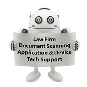 law firm scanning help and configuration